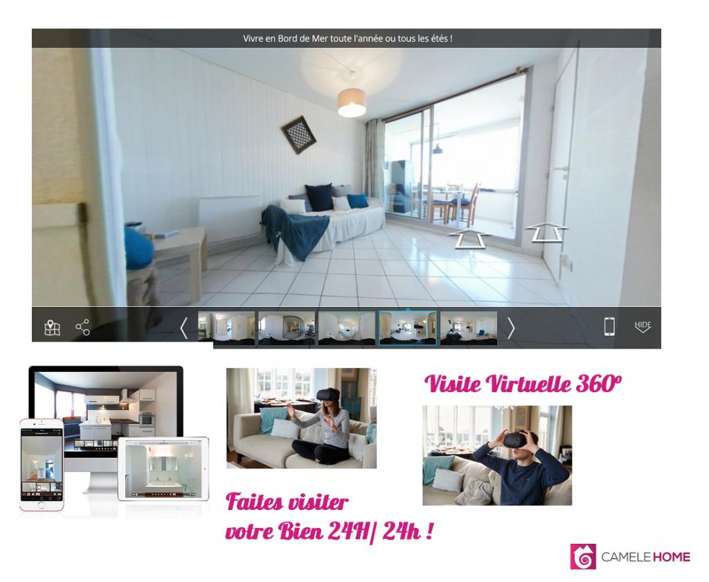 Affiche visite virtuelle